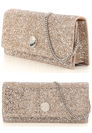 Jimmy Choo Gold Crystals Glitter Handbag Clutch Bag. Finding the Perfect Clutch Bag for Race Day outfits, Royal Ascot, Kentucky Derby Outfits, Racing and Wedding Fashions, Mother of the Bride Outfits, from THE HATISTA www.dress-2-impress.com Fashion Ideas and Inspiration