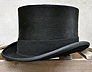 History of the Mens Top Hat. Vintage Silks, Fur Melusine and Wool Felts