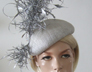 Silver Beret Hat. Royal Ascot Hat Hire. Outfits for Royal Ascot