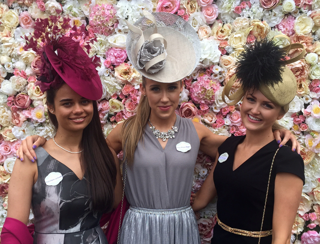 Royal Ascot Flower Wall, Royal Ascot Style Guide. Tops from the Hatista